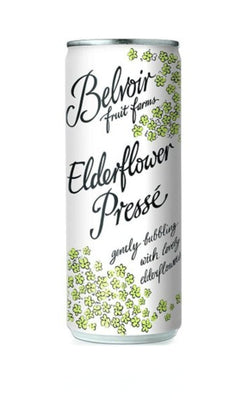 Belvoir Sparkling Elderflower Presse Can 250ml