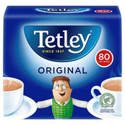 Tetley Tea Bags 80ct (250g)