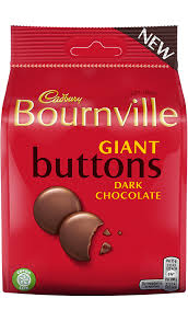 Bournville Giant Dark Buttons Pouch 110g