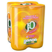J20 Cans 250ml 4 pack Orange & Passionfruit
