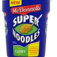 McDonnells Super Noodles Curry Pot 65g