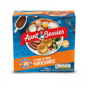 Aunt Bessie's Yorkshire Pudding ready made Bake at Home 370g (1lb towards 6lb minimum order for frozen food)