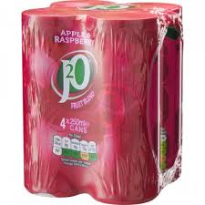 J20 Cans 250ml 4 pack Apple & Raspberry