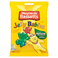 Maynards Bassett Jelly Babies Bag 165g