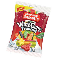 Maynards Wine Gums Frosted 165g