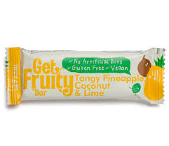Get Fruity Bar Tangy Pineapple, Coconut & Lime 35g
