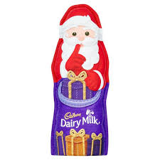 Cadbury Dairy Milk Large Hollow Santa 100g