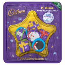 Cadbury Mixed Tree Decorations 136g