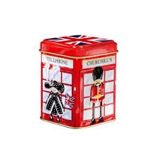 Churchill's Confectionary Mini Telephone Box Tin - Bonbons 50g