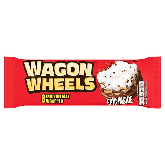 Burtons Wagon Wheels 228g