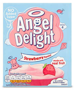 Angel Delight No Added Sugar Strawberry Packet 47g
