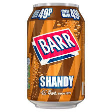 Barrs Shandy 330ml
