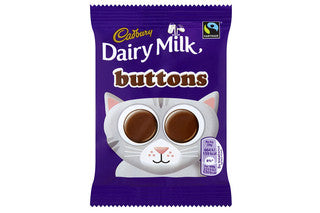 Cadbury Milk Chocolate Buttons 30g