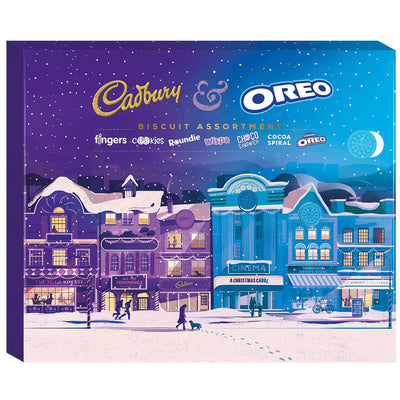 Cadbury & Oreo Chocolate Biscuit Assortment 500g
