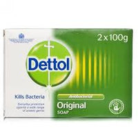Dettol First Aid Soap Bar 2x100g Pack