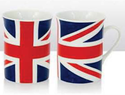 Union Jack Wavy Lippy Mug