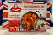 Colonel Kababz Frozen Kofta Butter Chicken & Rice 354g