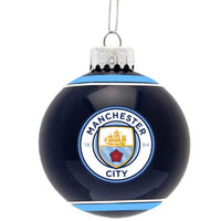 Manchester City FC Christmas Ornament