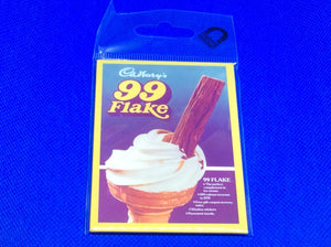 Flake 99 Fridge Magnet