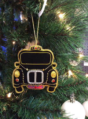 Taxi Christmas Ornament