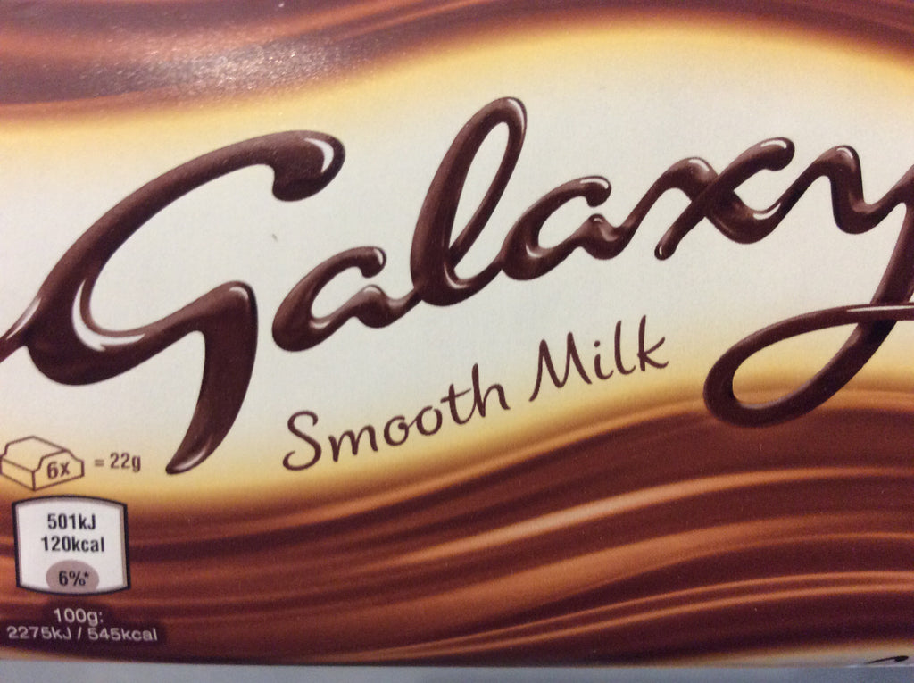 Galaxy Smooth Milk 110g Bars