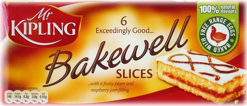 Mr. Kipling Bakewell Slices 6pk (1/2lb Ship Weight)