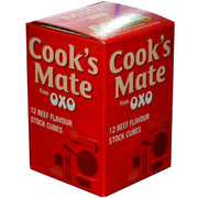 Cooks Mate Oxo Beef Flavor Cubes 12pk 71g