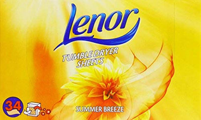 Lenor Summer Breeze Dryer Sheets