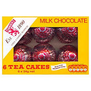 Tunnocks Tea Cakes 6 Pack 144g