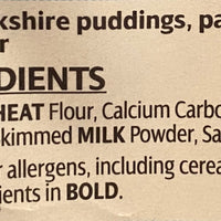 Aunt Bessie's Yorkshire Pudding Mix 120g.