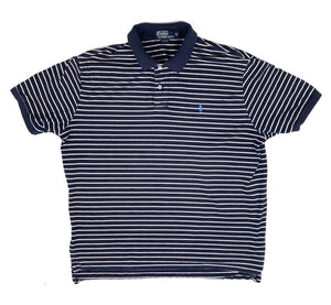 Navy Polo Striped