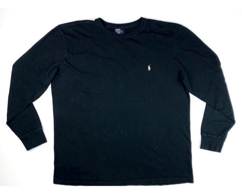 Retro Black Polo