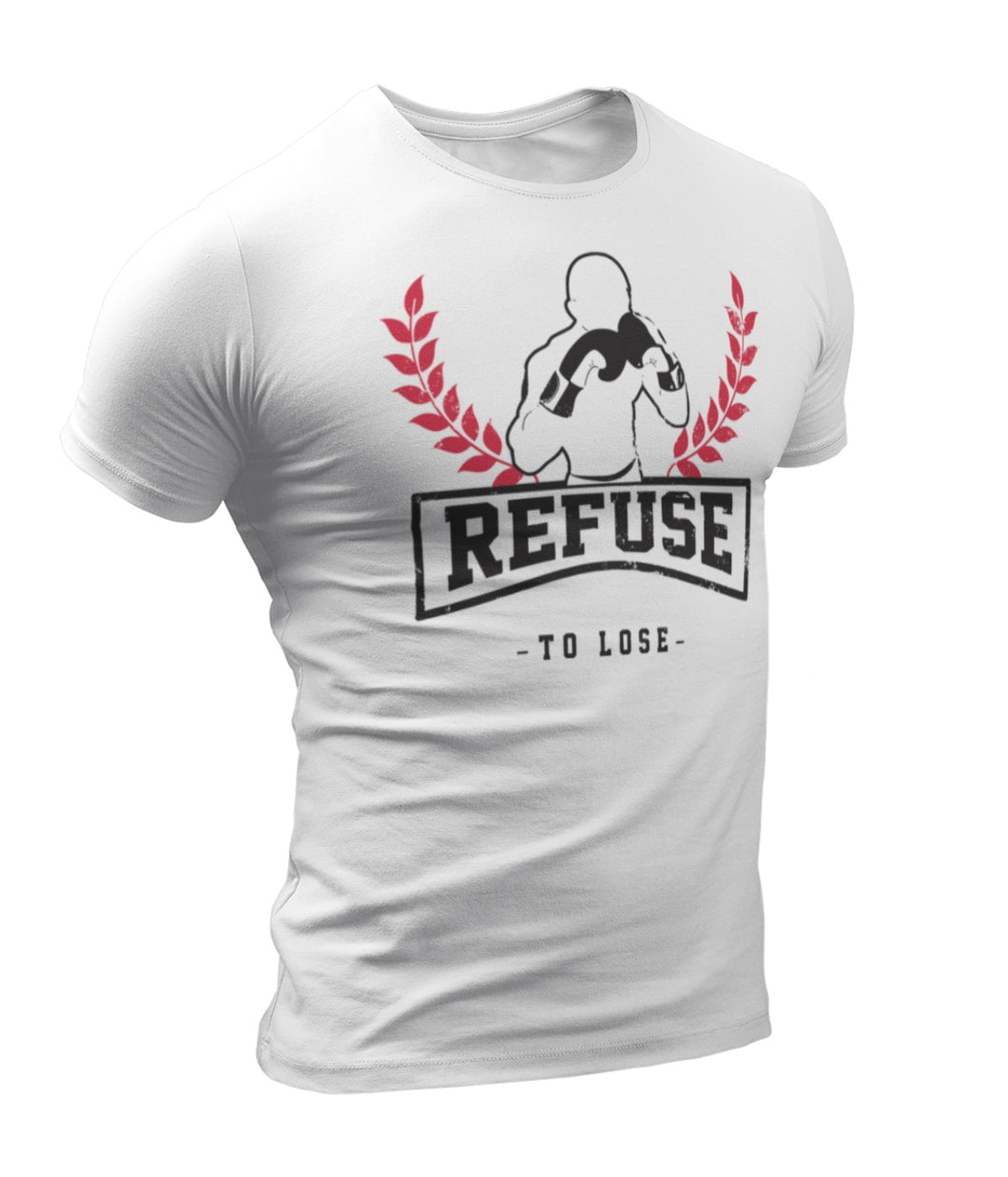 Refuse to Lose No Nation White T