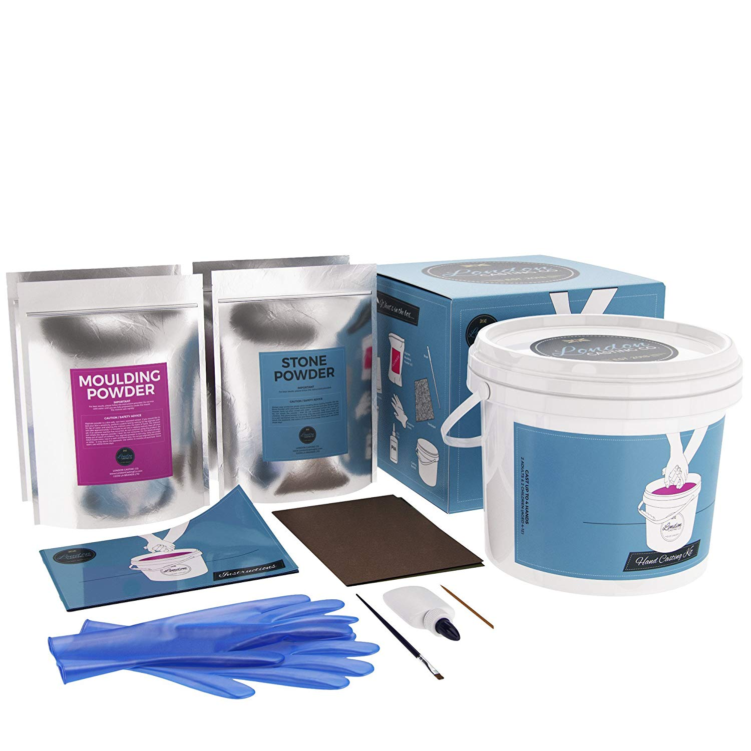 Family Casting Kit - 2 Adult + 2 Child Hands – London Casting Company
