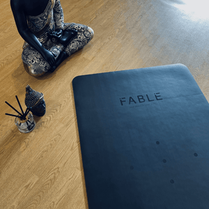 Fable 4MM Sustainable Yoga Mat Black