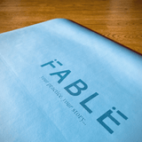 Fable 4MM Sustainable Yoga Mat Sky Blue