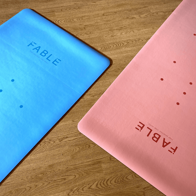 Sustainable Fable Yoga Mat - Blush Pink