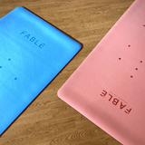 Fable 4MM Sustainable Yoga Mat Blush Pink
