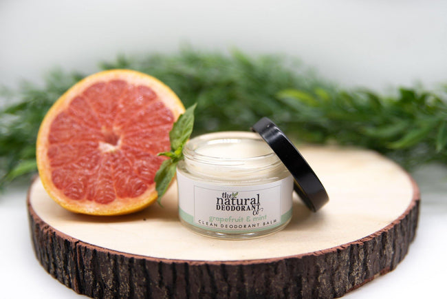 The Natural Deodrant Co Clean Deodorant balm - Grapefruit and Mint