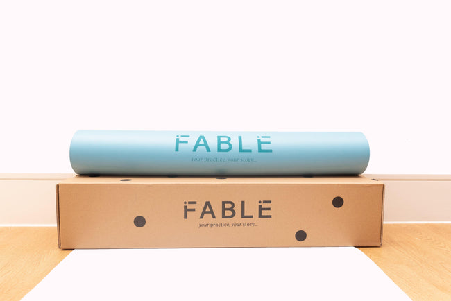 Sustainable Fable Yoga Mat - Sky Blue