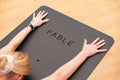 Sustainable Fable Yoga Mat - Black