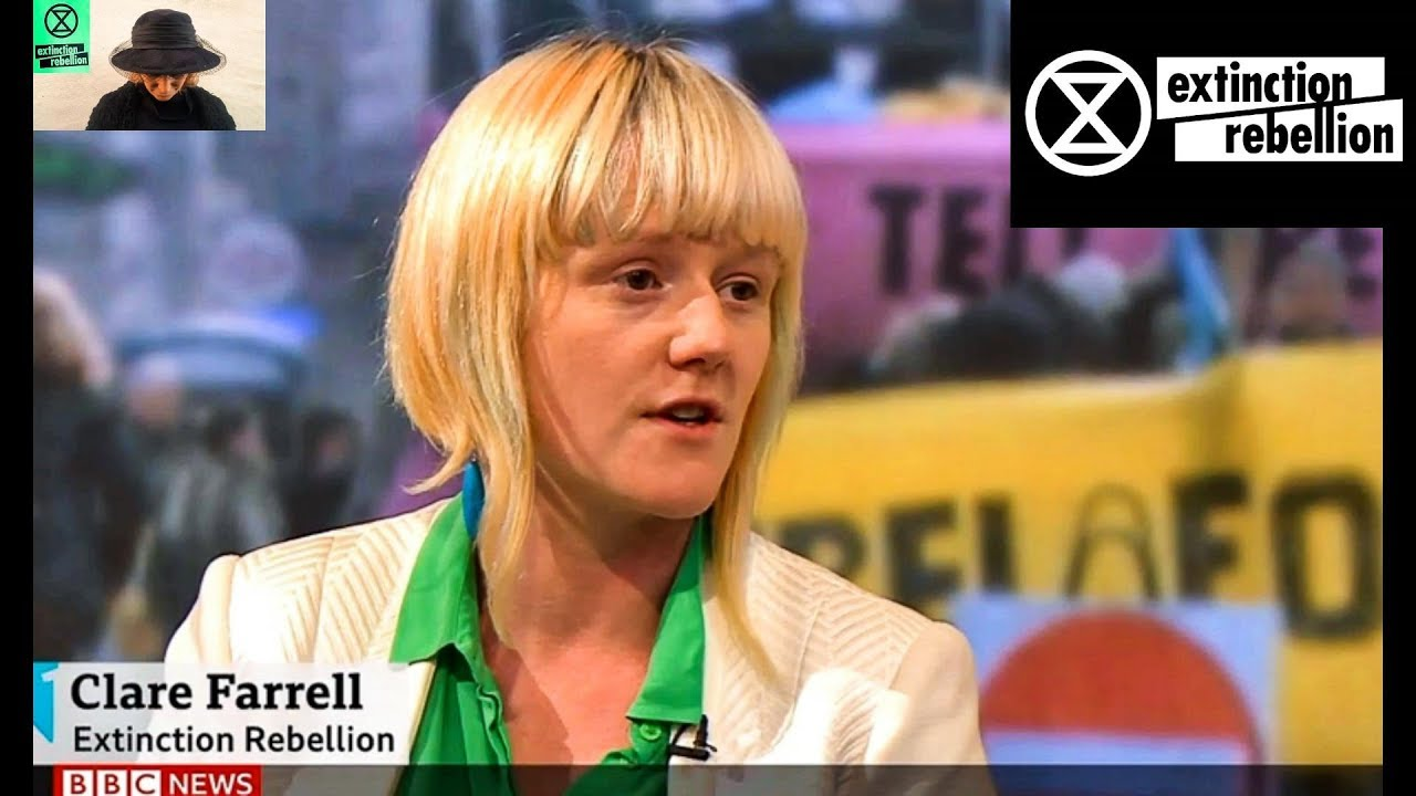 Clare Farrell Exctinction Rebellion