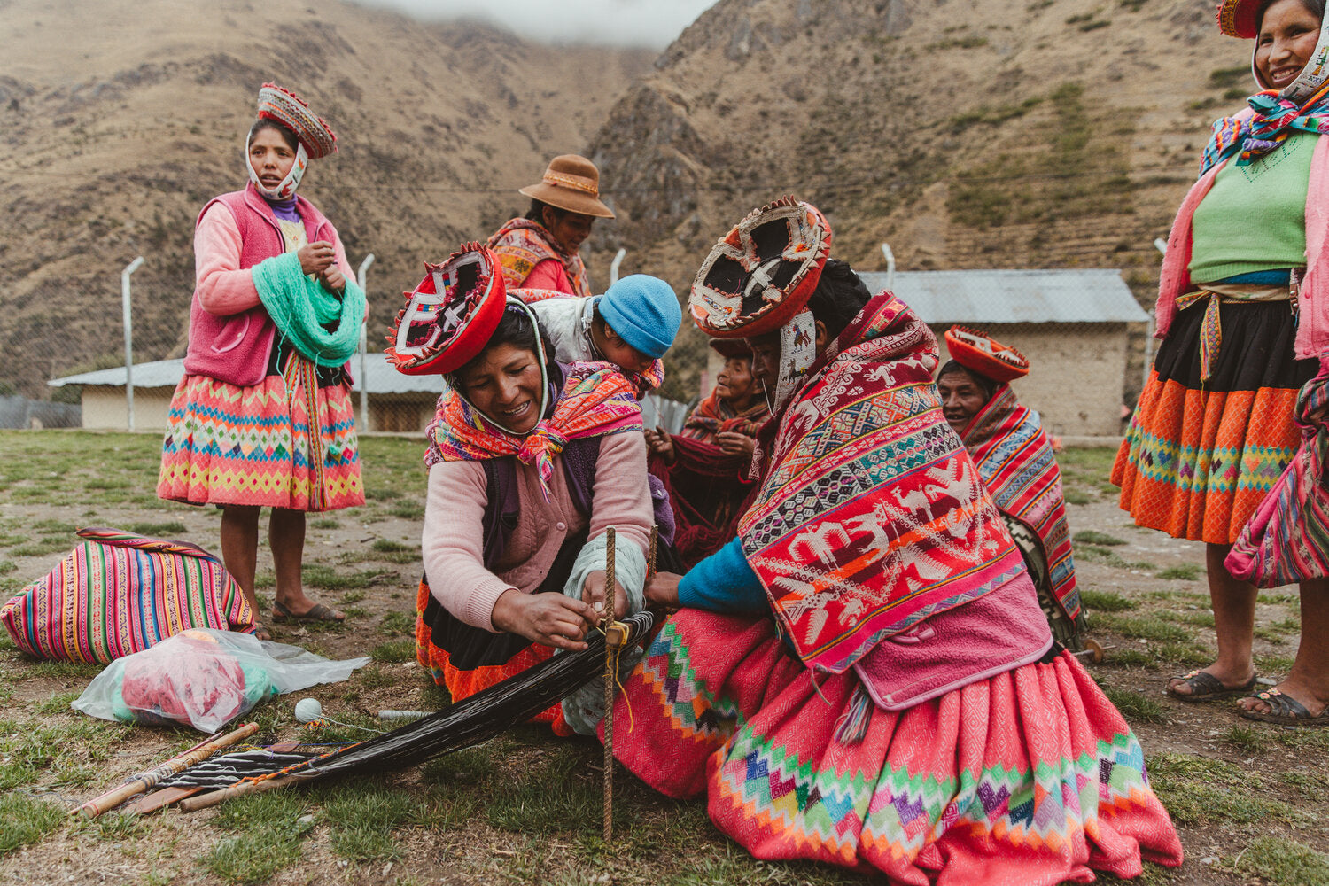 Awamaki. Supporting female artisans in the Peruvian Andes.