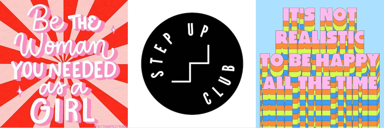 Step Up Club Alice Olins Power Woman