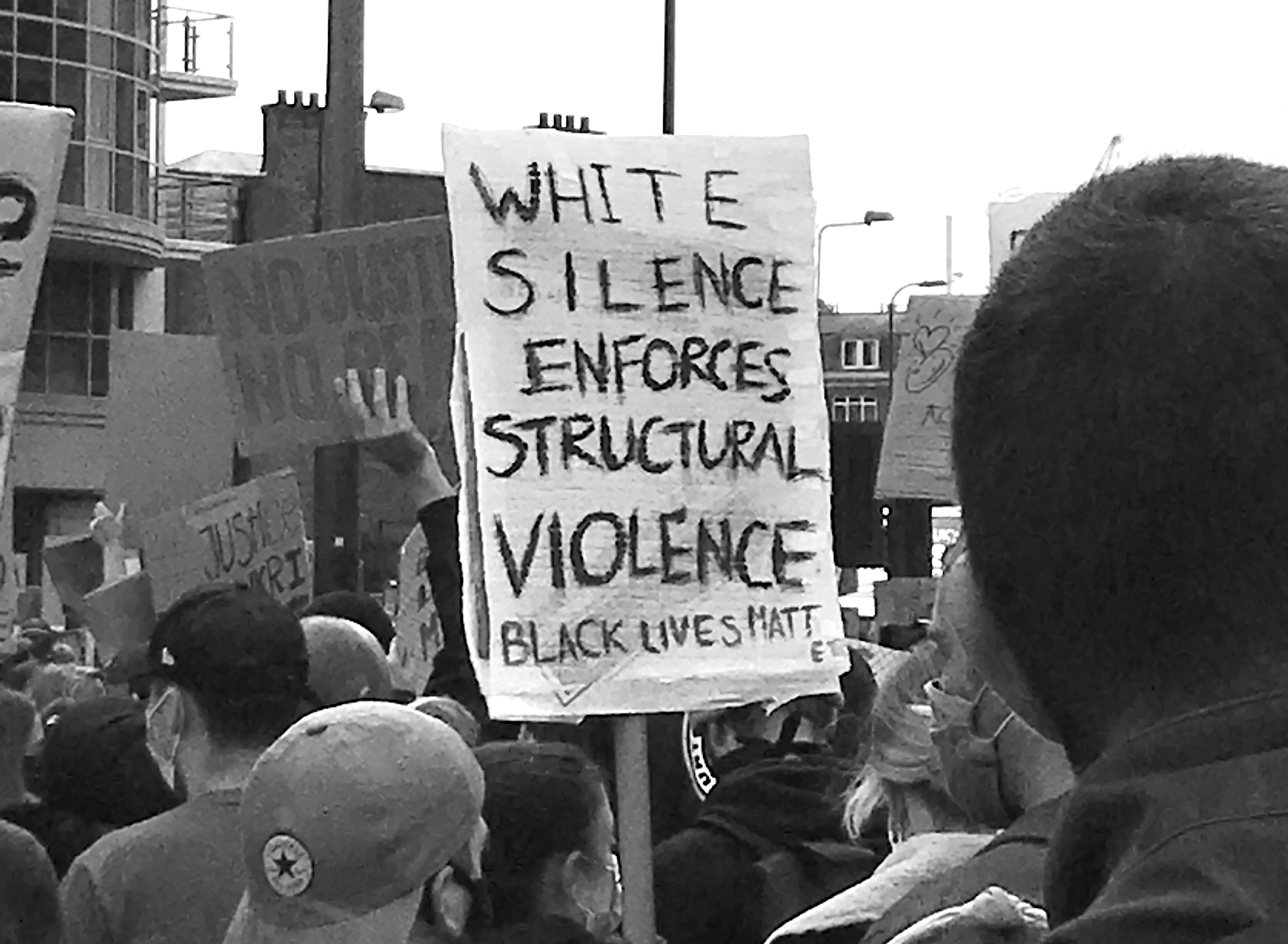 White Silence structural violence