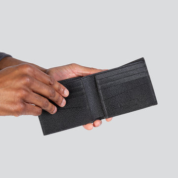 Bill Fold Wallet - Black