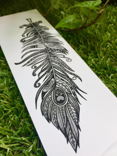 Feather Mandalove Bookmark