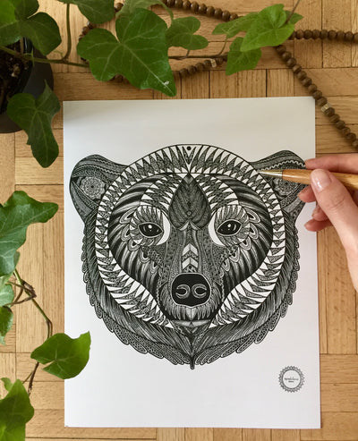 Mandala Bear - Bhaloo