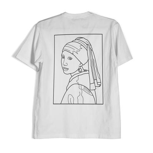 Girl with a Pearl Earring • Mplouzart • Streetwear Clothing Collections