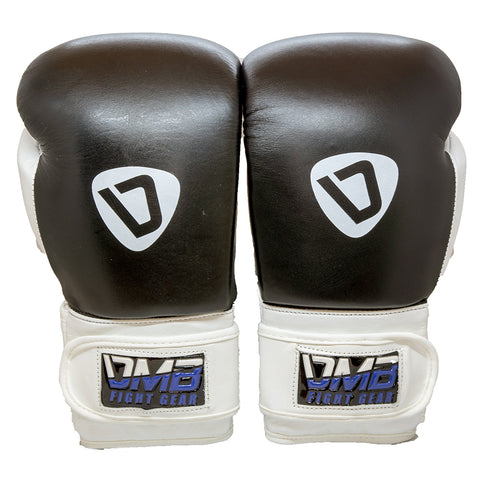 DMB Blue G2 Leather Boxing Gloves